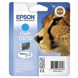 EPSON Cartouche Jet d'encre Cyan C13T071240 photo du produit