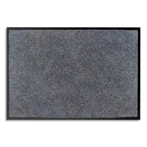 PAPERFLOW Tapis d'accueil odoriférant en polyamide. Coloris Gris. Dim. 60 x 80 cm, épaisseur 6 mm photo du produit Principale L