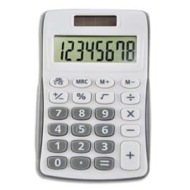 Calculatrice de poche Grise 8 chiffres MD-9859A photo du produit