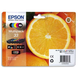 EPSON Multipack Jet d'encre Orange C13T33374010 photo du produit