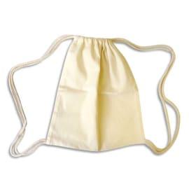 GRAINE CREATIVE Sacs en coton brut à décorer, avec cordon coulissant, 26 x 31 cm photo du produit