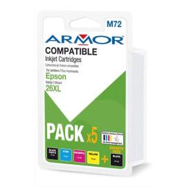 ARMOR Cartouche compatibilité EPSON PACK5C 26XL B10368R1 photo du produit