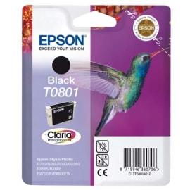EPSON Cartouche Jet d'encre Noir C13T08014011 photo du produit