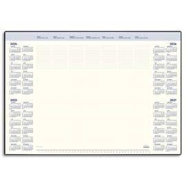 BREPOLS Sous-mains Deskmate 1040, en PVC Noir, 35 feuilles chamois, quadrilingue - format : 41,2 x 59 cm photo du produit