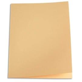 PERGAMY Paquet de 250 sous-chemises papier recyclé 60 grammes coloris Bulle photo du produit