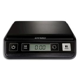 DYMO Pèse-lettres M1 Noir capacité 1 Kg, numérique USB, 3 piles AAA non fournies L23,1 x H5,8 x P19,7 cm photo du produit