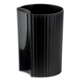 HAN Pot à crayons Loop Noir en polypropylène - Diamètre 7,3 cm, Hauteur 10 cm photo du produit