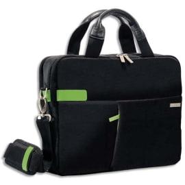LEITZ Sac Inch Laptop Bag pour ordinateur 13,3, 2 compartiments + pochettes - L37 x H27 x P7,5 cm Noir photo du produit