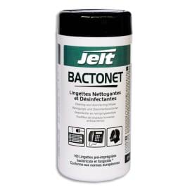 JELT Boîte de 100 lingettes nettoyantes anti bactérie bactonet photo du produit