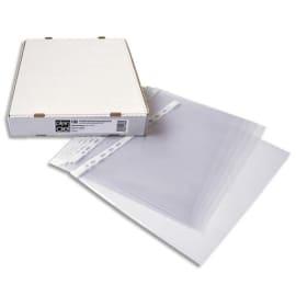 PLEIN CIEL Boîte de 100 pochettes perforées en polypropylène 9/100e photo du produit