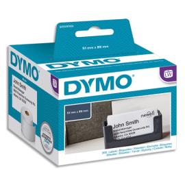 DYMO Rouleau de 300 étiquettes (non adhésives) pour carte de visite 51x89mm S0929100 photo du produit