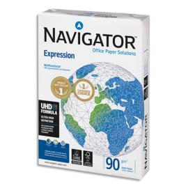 SOPORCEL Ramette 500 feuilles papier extra Blanc Navigator Expression A4 90G CIE 169 photo du produit