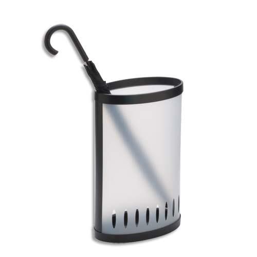 ALBA Porte-parapluie en polypropylène Translucide, Capacité : 8 à 10 parapluies Dim : 38 x 22,5 x 60 cm photo du produit Principale L