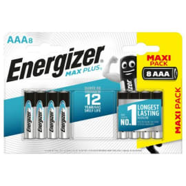 ENERGIZER Blister de 8 piles Max Plus AAA E92 7638900423136 photo du produit