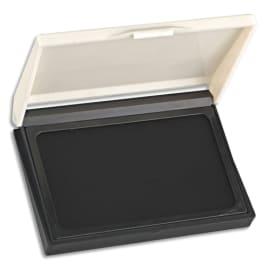Tampon encreur réencrable ABS, pour timbre caoutchouc ou résine L11 x P7 cm encre Noir photo du produit