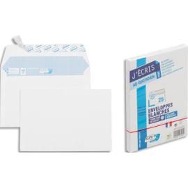 GPV Paquet de 25 enveloppes Blanches auto-adhésives 90 grammes format 114x162mm référence 21301 photo du produit