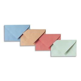 GPV Boîte de 500 enveloppe élection 75 grammes coloris Bleu format 90x140mm photo du produit
