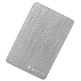 VERBATIM Disque dur 2,5'' USB 3.2 Alu Slim 2To Argenté 53666 photo du produit