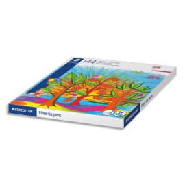 STAEDTLER Classpack carton 144 feutres coloriage Noris Club pointe 1 mm assortis photo du produit