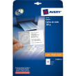AVERY Pochette de 250 cartes de visite microperforées (85x54 mm) 185g coins droits finition mate photo du produit