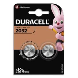 DURACELL Blister de 2 piles 2032 Lithium Duralock pour appareils électroniques 5000394203921 photo du produit