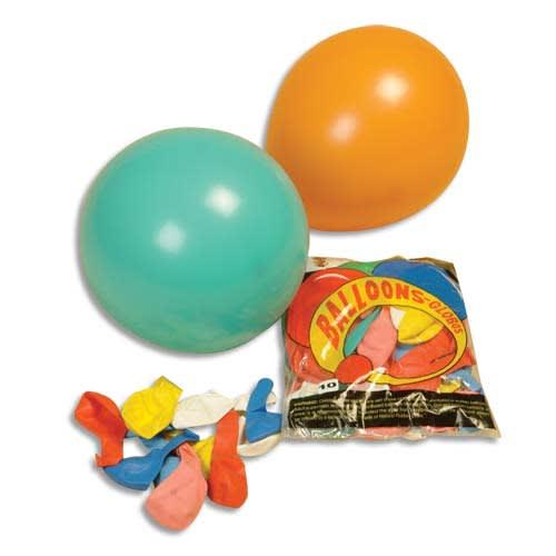 PW INTERNATIONAL Sachet de 100 ballons grand modèle diamètre 30cm photo du produit Principale L