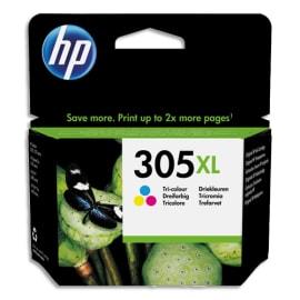 HP Cartouche jet d'encre 305XL 3 couleurs 3YM63AE photo du produit