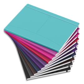 OXFORD Carnet SIGNATURE format B5 couverture souple brochure 160 pages quadrillées 5x5. Coloris assortis photo du produit