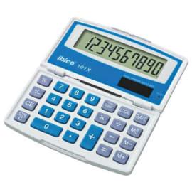 IBICO Calculatrice de poche Ibico 101X Grand écran LCD à 10 chiffres, écran repliable IB410130 photo du produit