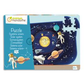 AVENUE MANDARINE Puzzle 76 pièces, Système solaire photo du produit