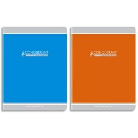 Cahiers CONQUERANT 90g/carte vernie/Piqûre 17x22 cm/ 32 pages SEYES photo du produit