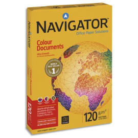 NAVIGATOR Ramette 500 feuilles papier extra Blanc Navigator Colour Document A3 120G CIE 169 photo du produit