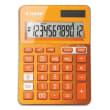 CANON Calculatrice de bureau 12 chiffres LS-123K Orange 9490B004AA photo du produit