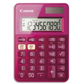 CANON Calculatrice de poche LS-100K MPK Rose 0289C003 photo du produit