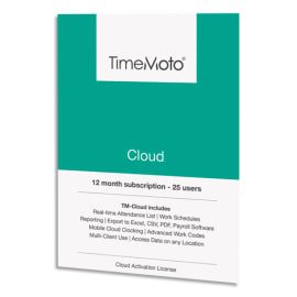 SAFESCAN Logiciel TM Cloud jusqu'à 50 utilisateurs supplémentaires + 1 an offert 139-0590 photo du produit