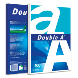 ALIZAY Ramette 100 feuilles papier extra Blanc PREMIUM DOUBLE A A4 80G CIE 161 photo du produit