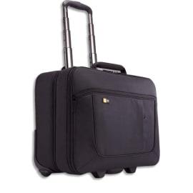 CASE LOGIC Trolley Noir en nylon pour PC 13'' à 17,3'' + compartiment vêtements L46 x H40,4 x P23,6 cm photo du produit