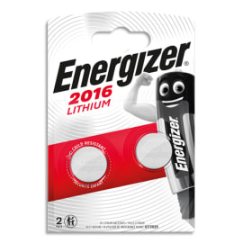 ENERGIZER Blister 2 piles CR2016 Lithium 7638900248340 photo du produit