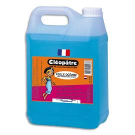 CLEOPATRE Colle synthétique transparente / colle Bleue Océane / Bidon de 5 litres photo du produit