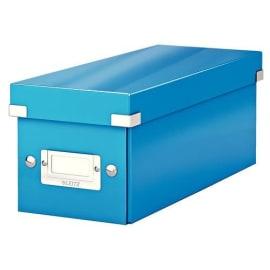 LEITZ Boîte de rangement pour CD Click&Store coloris WOW Bleu 60410036 photo du produit