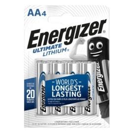 ENERGIZER Blister de 4 piles LITHIUM AA LR6 Ultimate lithium 7638900262643 photo du produit