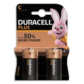 DURACELL Blister de 2 Piles Alcaline 1,5V C LR14 Plus Power 5000394019089 photo du produit