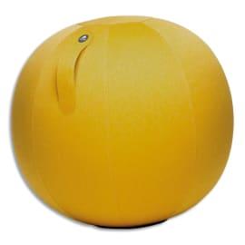 ALBA Ballon Ball Move Up Jaune Safran, résistant, anti-éclatement, gonflable, poignée de transport, D65cm photo du produit