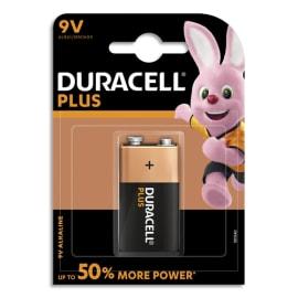 DURACELL Blister de 1 Pile Alcaline 9V 6LR61 Plus Power 5000394105485 photo du produit
