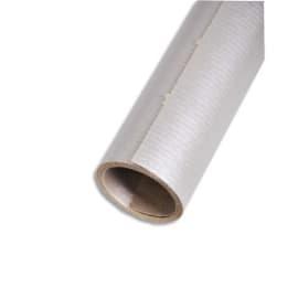 CLAIREFONTAINE Rouleau de papier Kraft 60g/m². Format 3x0,7m. Coloris Argent photo du produit