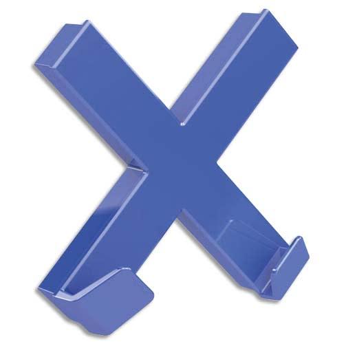 DAHLE Aimant Mega Magnet XL format 90 x 90 mm. Croix Bleu photo du produit Principale L