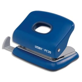 RAPID Perforateur 2 trous FC20. Capacité 20 feuilles. Bleu. photo du produit