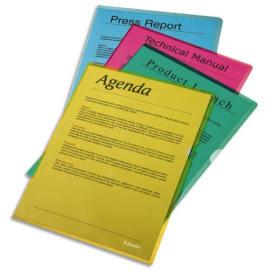 ESSELTE Boîte de 100 pochettes-coin Copy Safe Vert en polypropylène 11/100e photo du produit