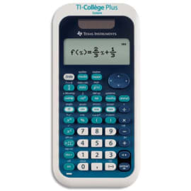 TEXAS INSTRUMENTS Calculatrice scientifique TI-College Plus COLLEGEP/TBL/1E2 photo du produit