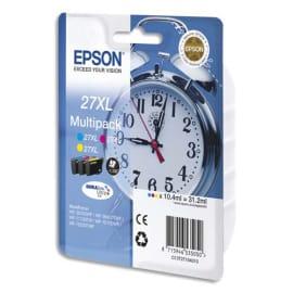 EPSON Multipack Jet d'encre 3 couleurs Cyan Magenta Jaune XL C13T27154010 photo du produit